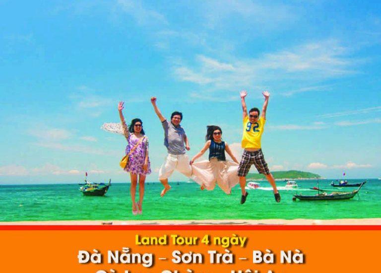 Land tour Đà Nẵng – Sơn Trà – Bà Nà – Cù Lao Chàm – Hội An 4 Ngày