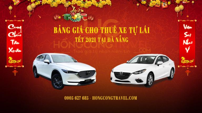 Bảng Giá Cho Thuê Xe Tự Lái Tết 2021 Tại Đà Nẵng